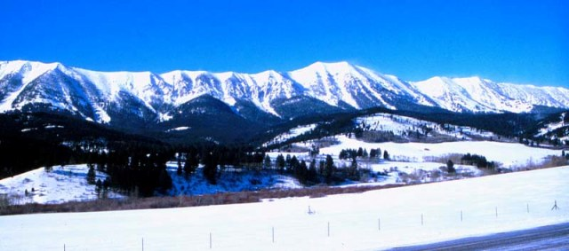 The Bridger Ranges, Bozeman, Montana