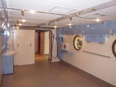 Townsville Hospital Hyperbaric Chamber