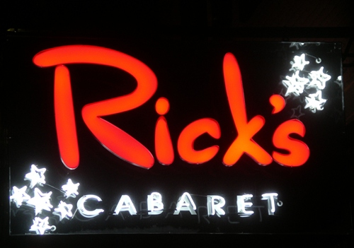 French Quarter - Rick's Cabaret, New Orleans