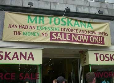 Funny Sign - Expensive Divorce