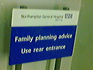 Funny Sign - Family Planning