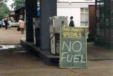 Funny Sign - No Fuel