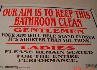 Funny Sign - Our AIm