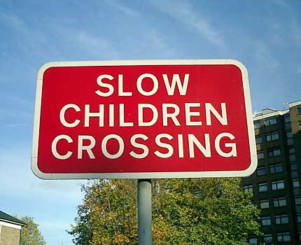 Funny Sign - Slow Children