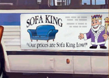 Funny Sign - Sofa King